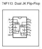 74F113 Dual JK Flip-Flop