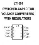 LT1054CS SMT Switch-Capacitor Converter