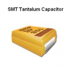 SMT Tantalum Capacitor - 100uF @ 10v Kemet