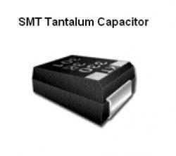 SMT Tantalum Capacitor - 6.8uF @ 16v Hitachi