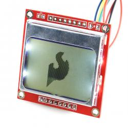 Nokia 5110 LCD Graphic display 84x48 with Blacklight - Arduino Compatible
