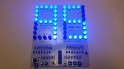 """8"""" LED Scoreboard Kit - LED Up & Down Counter Kit"""