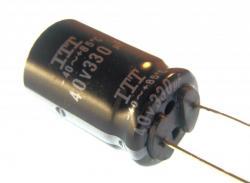 Aluminum Electrolytic - 330uF @ 40v - Radial