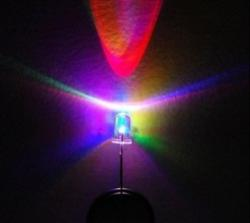 5mm Multi Color, LEDs with Resistors