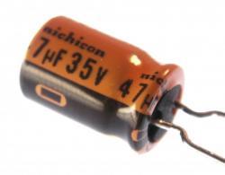 Aluminum Electrolytic - 47uF @ 35v - Radial