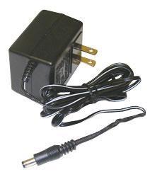AC-DC Adapter: 110V AC to 9V 800mA