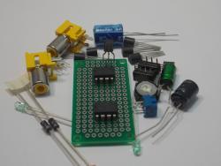 LM741 Single Op Amp DIP IC Design Kit