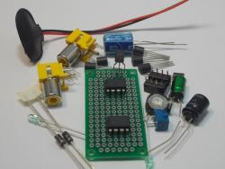 LM1458 Op Amp & LM386 Audio Amplifier DIP Kit (#1340)