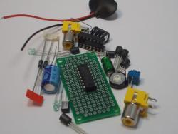 LM324 Quad Op Amp DIP IC Design Kit