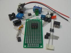 LM317LZ Adjustable Volt Reg Kit (#1375)