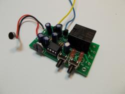 Sound Controlled Relay Electronic Hobby Kit
