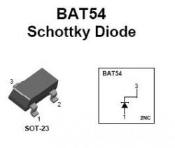 BAT-54 SMT Switching Diode