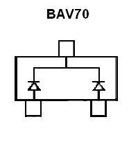 BAV-70 SMT Dual Switching Diode