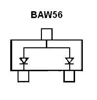 BAW56 SMT Signal Diode
