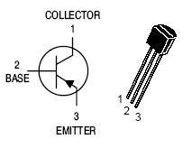 BC307 PNP Transistor