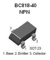 BC818 SMT NPN Transistor