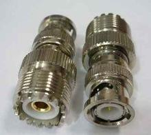SO-239 Female to BNC Male Adapter