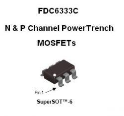 SMT FET - FDG6333C Dual N & P Channels