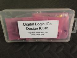 Solderless Breadboard & Digital ICs Kit #1 (#3133)