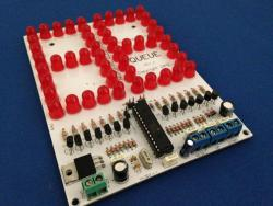 """6"""" LED Scoreboard Kit - LED Up & Down Counter Kit  (#4192)"""