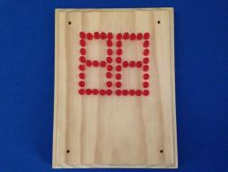 LED Scoreboard with Pine Faceplate (#5624)