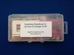 Solderless Breadboard & Op Amp Kit #2 (#1235)