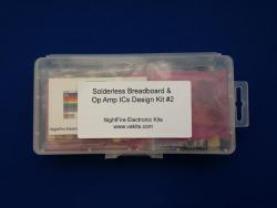 Solderless Breadboard & Op Amp Kit #3 (#1240)