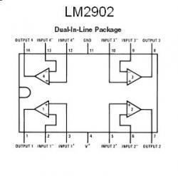 LM2902 Quad Op Amp