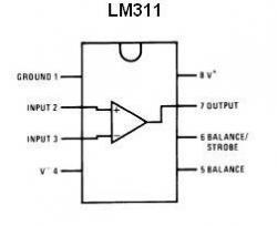 LM311 SMT Voltage Comparator