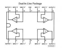 LM324 SMT Quad Op Amp