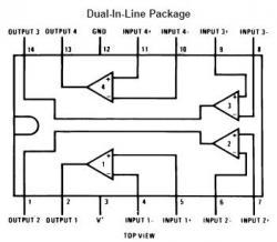 LM339 Quad Voltage Comparator