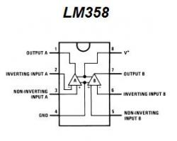 LM358 Dual Op Amp