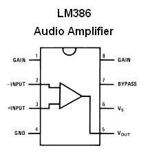 Lm386n 1 325mwatt Audio Amplifier Nightfire Electronics Llc