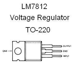 Lm7812 Positive 12v Voltage Regulator on zener diode code