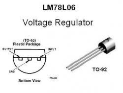 LM78L06  Positive +6v Voltage Regulator IC
