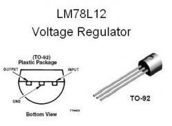 LM78L12  +12v Voltage Regulator IC