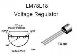 LM78L18  +18v Voltage Regulator IC