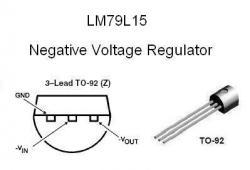 LM79L15 NEGATIVE -15v Voltage Regulator