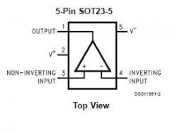 LMC7101 SMT Tiny Op Amp