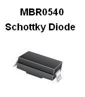 MBR0540 SMT Schottky Diode