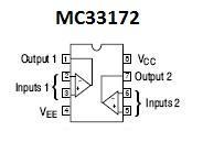MC33172 SMT Dual Op Amp