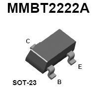 MMBT2222A SMT NPN Transistor