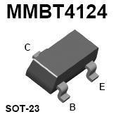 MMBT4124 SMT NPN Transistor