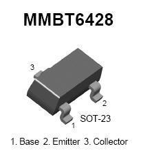 MMBT6428 SMT NPN Transistor