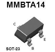 MMBTA14 SMT NPN Darlington Transistor