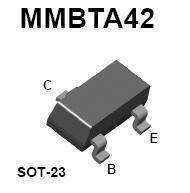 MMBTA42 SMT NPN High-Voltage Transistor