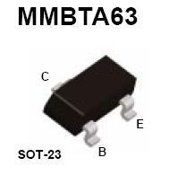 MMBTA63 SMT PNP Darlington Transistor