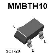 MMBTH10 SMT NPN RF Transistor