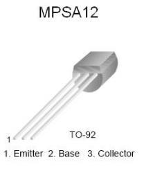 MPSA12 NPN Darlington Transistor