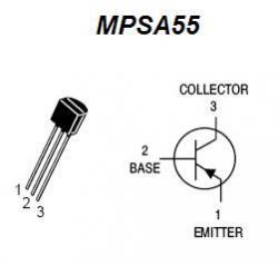 MPSA55 PNP Transistor